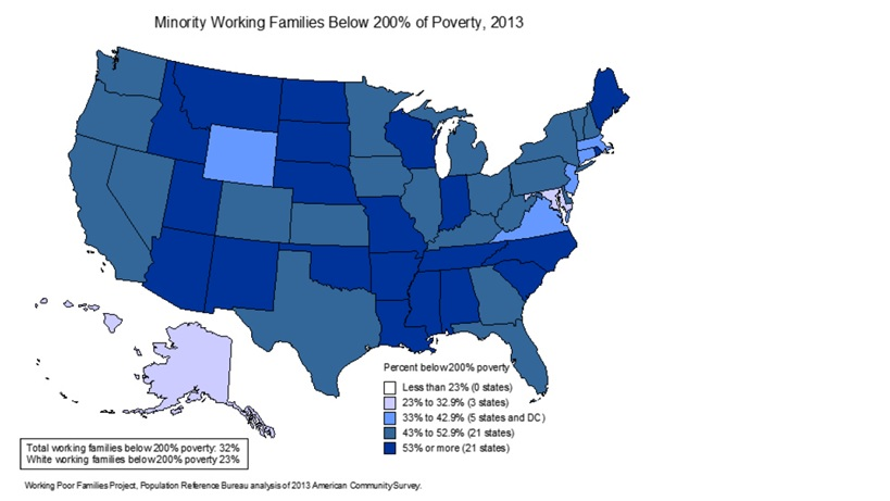 Working Families Map