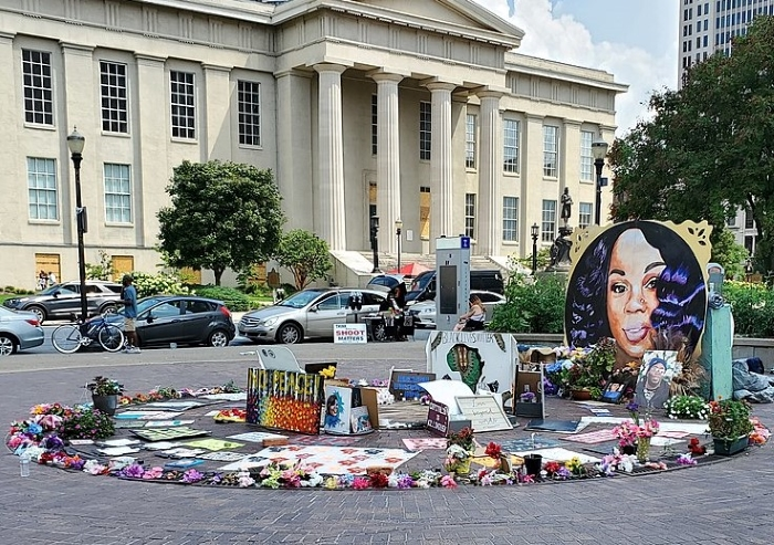 Breonna Taylor Memorial Louisville Kentucky