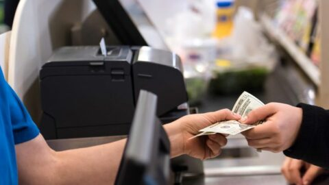 Spending cash in store